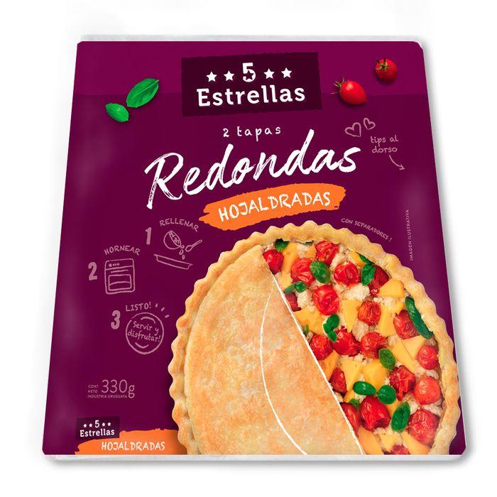 Tapas-para-horno-redondas-5-ESTRELLAS-330-grs.