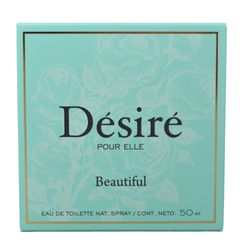 Eau-de-toilette-DESIRE-Beautiful-50-ml---regalo