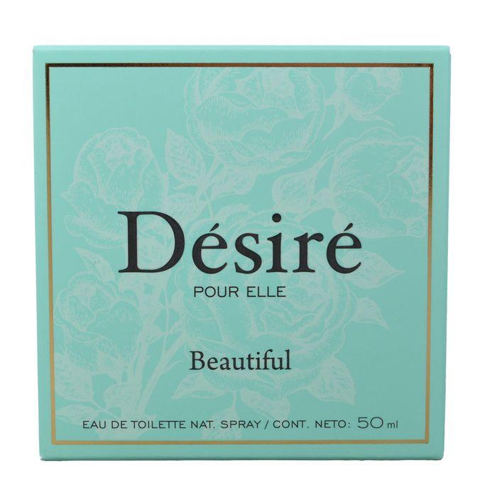Eau-de-toilette-DESIRE-Beautiful-50-ml---regalo