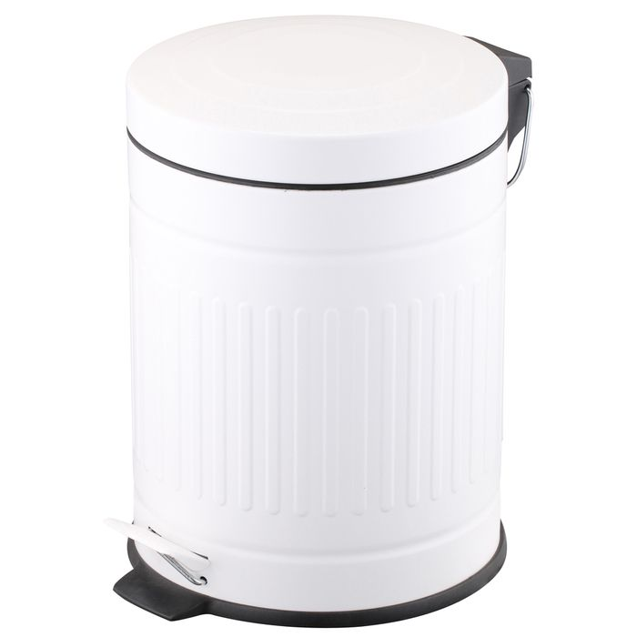 Papelera-acero-blanca-5-L