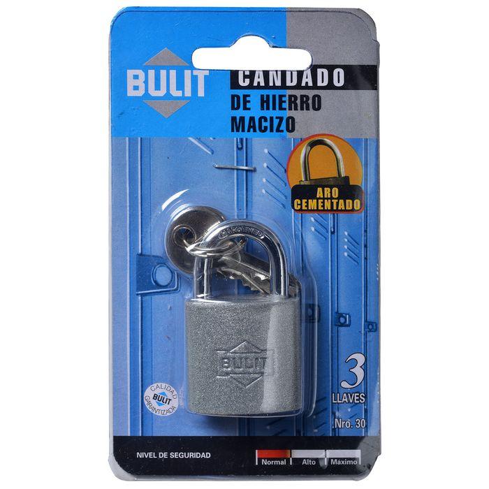 Candado-BULIT-hierro-30-mm