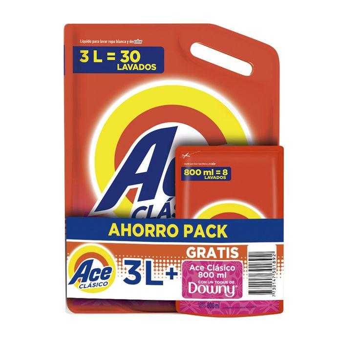 Pack-detergente-liquido-ACE-Toque-Downy-3-L---800-ml