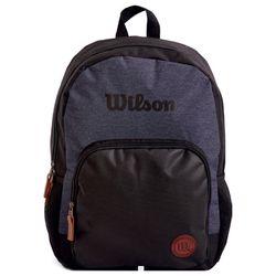 Mochila-WILSON-combinada-negro-y-gris