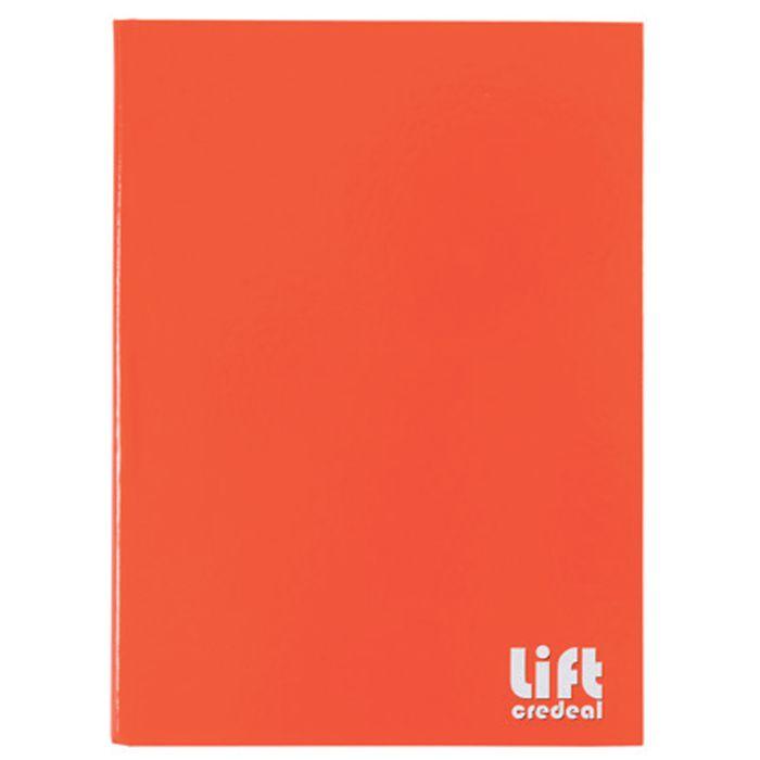 Cuadernola-cosida-LIFT-96-hojas-tapa-dura-lisa-roja