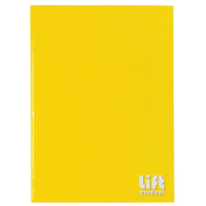 Cuadernola-cosida-LIFT-96-hojas-tapa-dura-lisa-amarilla