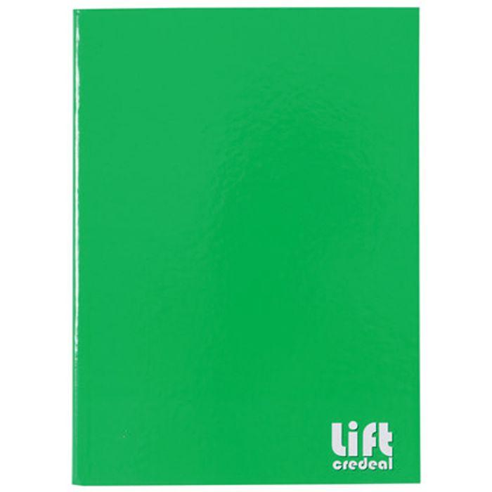 Cuadernola-cosida-LIFT-96-hojas-tapa-dura-lisa-verde