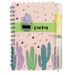 Libreta-con-lapicera-cactus-14x103-cm-30-hojas