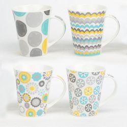 Jarro-370-ml-ceramica-diseño-gris-amarillo-verde