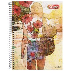 Cuadernola-tapa-dura-skate-96-hojas-con-stickers