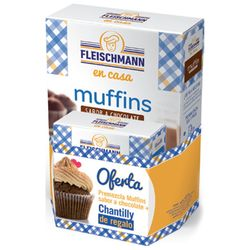 Pack-FLEISCHMANN-muffins-chocolate---chantilly-50-g-regal
