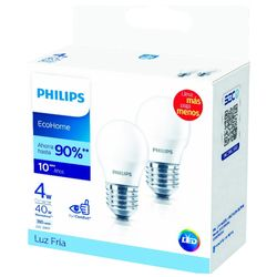 Lampara-PHILIPS-led-Ecohome-fria-x-2-4W