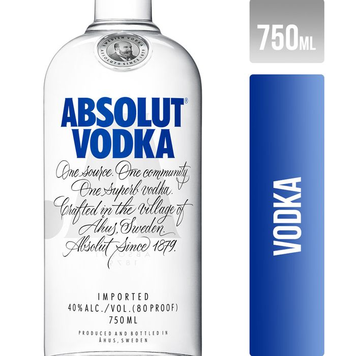 Vodka-Absolut-750-ml
