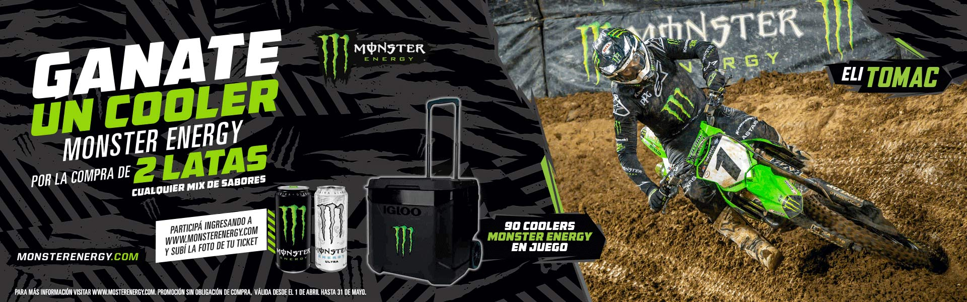 MONSTER ENERGY----------------------------------d-coleccion