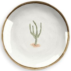 Plato-postre-melamina-cactus-21-cm