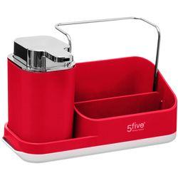 Organizador-para-fregadero-rojo-21.4x11.5x13.5cm