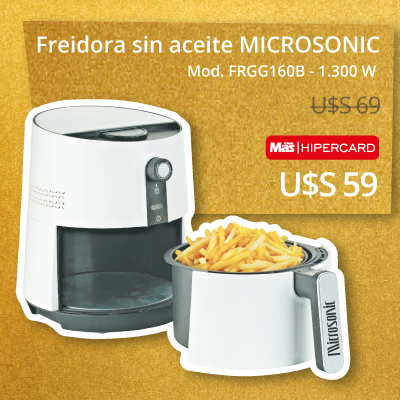 Banner der 1 - Freidora microsonic