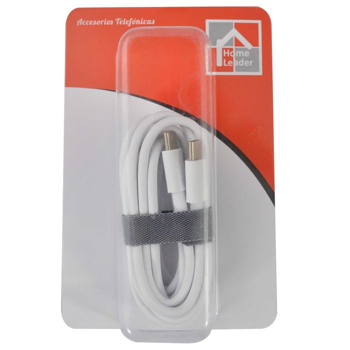 Cable-Usb-HOME-LEADER-tipo-C-a-tipo-C-2-m