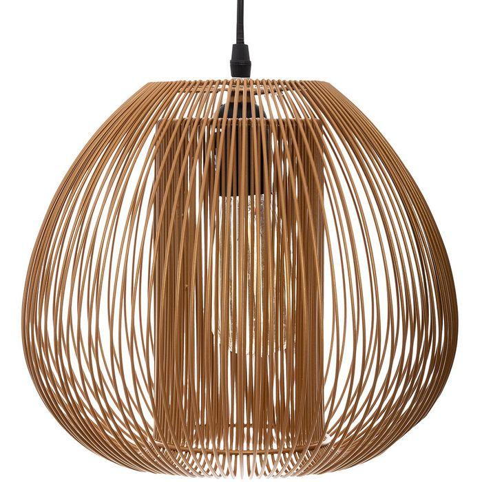 Lampara-de-techo-alambre-metal-25cm