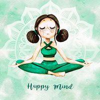 Lamina-infantil-40x40cm-happy-mind