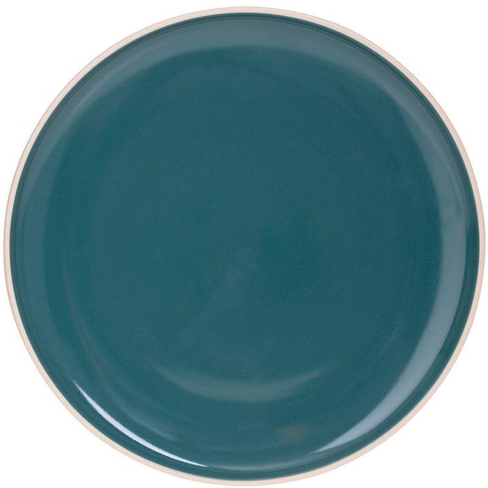 Plato-ceramica-20cm-verde