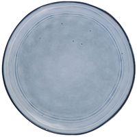 Plato-llano-de-ceramica-azul