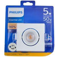 Spot-led-PHILIPS-50-w-Mod.-GU10-calida-cuadrado