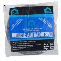 Burlete-HOME-LEADER-20x10-mm-5-mt-gris