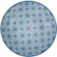 Plato-hondo-20-cm-ceramica-decorado-azul