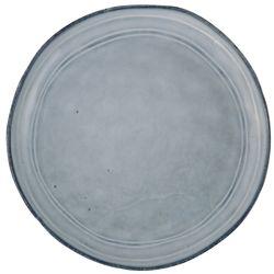 Plato-postre-ceramica-azul
