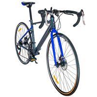 Bicicleta-ruta-WOLF-14-velocidades-con-equipamiento-Shimano-y-freno-de-disco