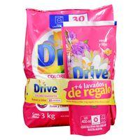 Pack-detergente-en-polvo-DRIVE-3-kg---Doy-Pack-400ml-de-regalo
