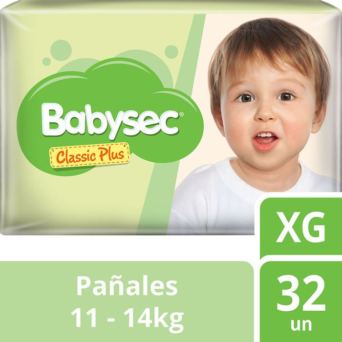 Pañal-Babysec-classic-plus-XG-32-un.