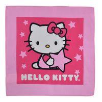 Servilleta-infantil-25x25cm-Hello-Kitty-estrella