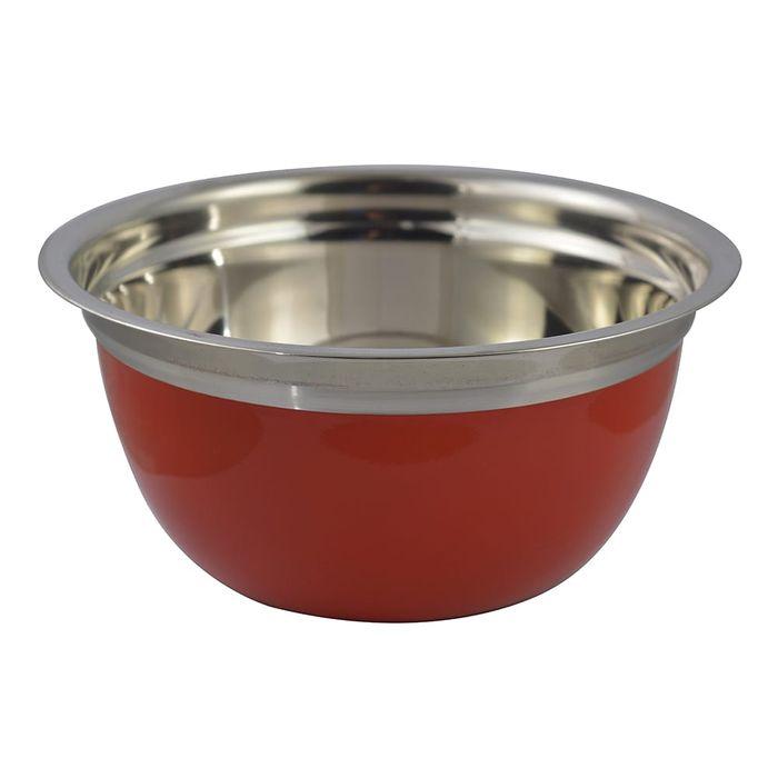 Bowl-21-cm-acero-inoxidable-rojo