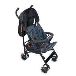 Coche-AVANTI-con-babysilla-Mod.-Spezia-gris-negro