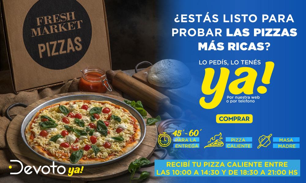 Banner pizzas