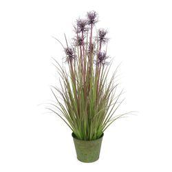 Planta-artificial-76cm-verde-con-violeta