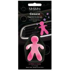 Perfumador-de-auto-MR---MRS-Cesare-citrus---musk