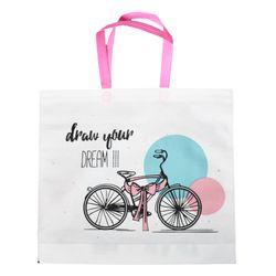 Bolsa-reutilizable-40x45cm-bici-rosa
