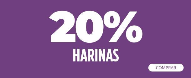 20 OFF HARINAS------------------------------------------coleccion