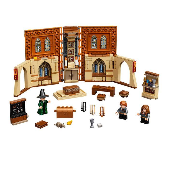 LEGO-Momento-Hogwarts--clase-de-transfiguracion-241-piezas