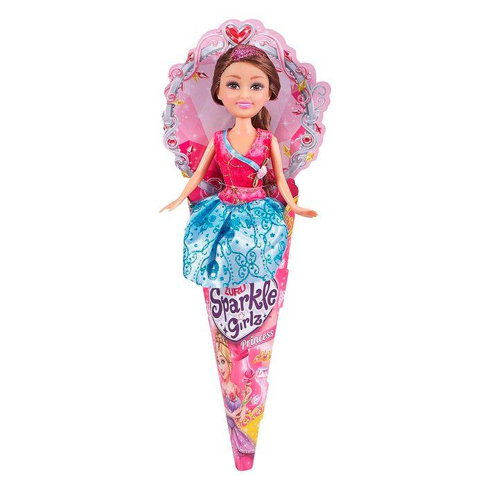 Muñeca-Sparkle-princesa-en-cucurucho