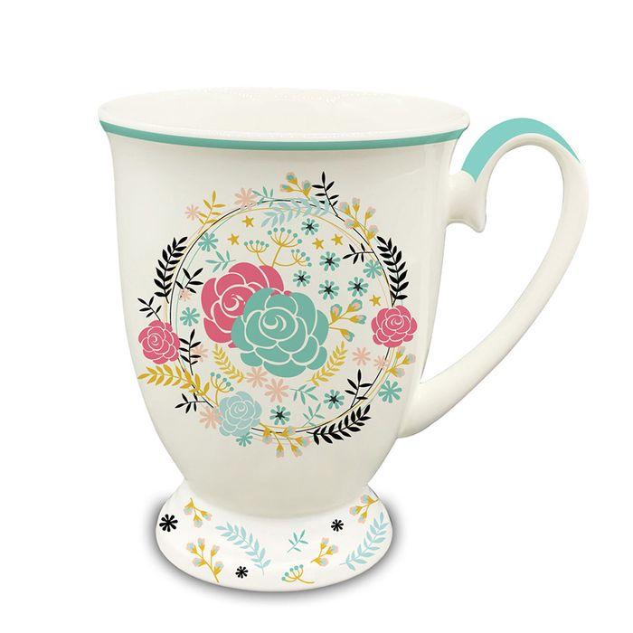 Jarro-ceramica-con-base-330-ml-flores-verde-agua