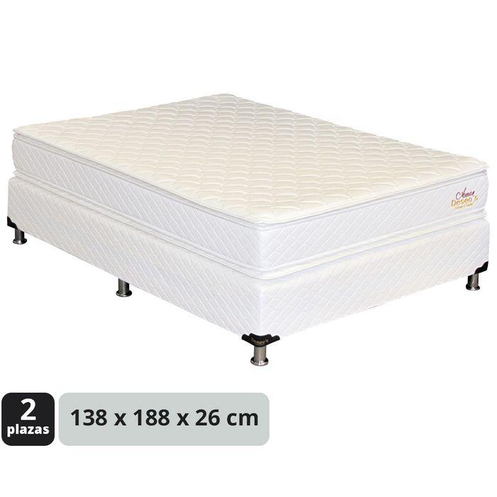 Conjunto-sommier-doble-pillow-Top-138x188x26-cm