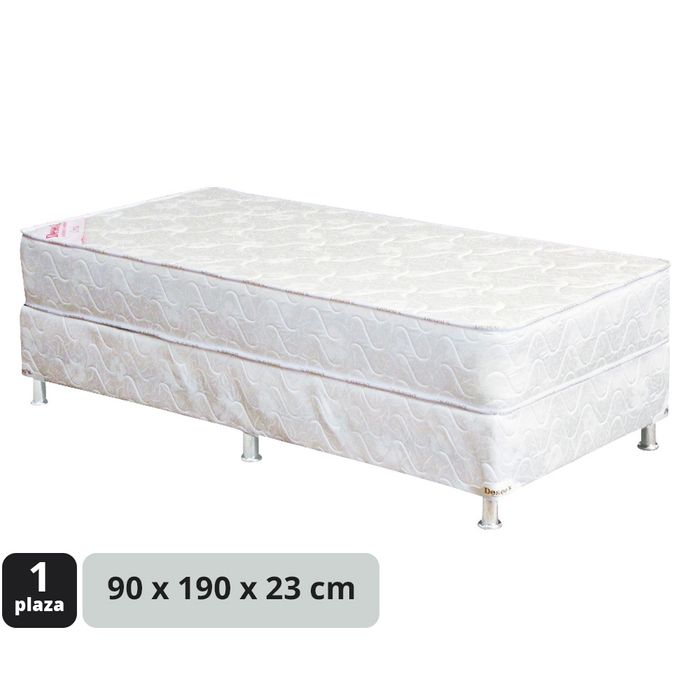 Conjunto-de-sommier-resortes-90x190x23cm-jaquard