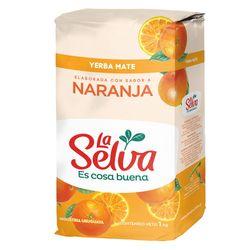 Yerba-LA-SELVA-sabor-naranja-pq.-1-kg