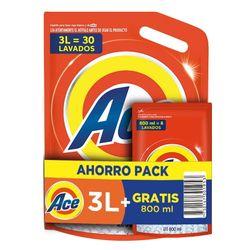 Pack-detergente-liquido-Ace-diluido-3-L---Ace-800-ml