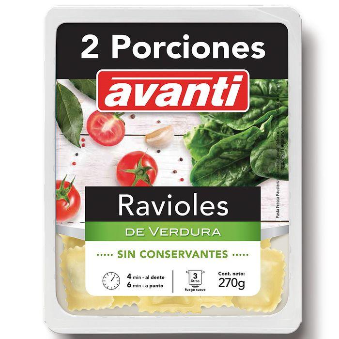 Ravioles-verdura-Avanti-270-g