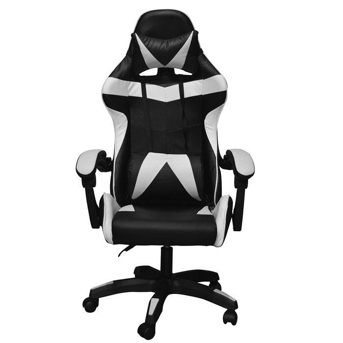 Silla-gamer-D-046-Negro-Blanco