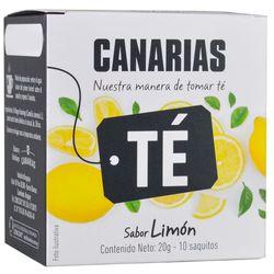 Te-negro-limon-CANARIAS-10-sobres